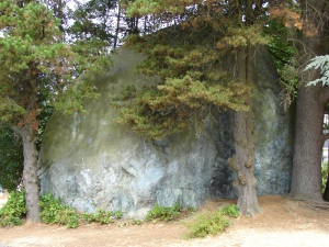 Wedgwood Rock is located at 7200 28th Ave NE in Seattle.