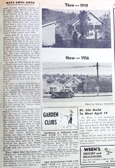 Wedgwood Echo.April 17 1956 page 5