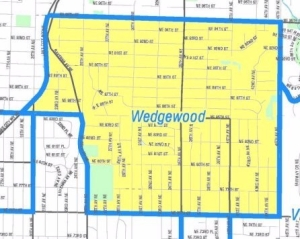 Wedgwood map from City Clerk