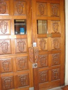 Broiler door