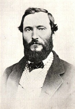 Charles Plummer.Photo from History of King County by Bagley