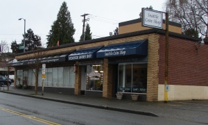The small space at 7509 35th Ave NE (Seattle Coin Shop) was the first McGillivray's Variety and Gift Store, beginning in 1949.