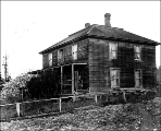 The William Weedin residence, Coupeville, Whidbey Island, circa 1900.  Photo courtesy of UW Digital Collections #WAS1230.