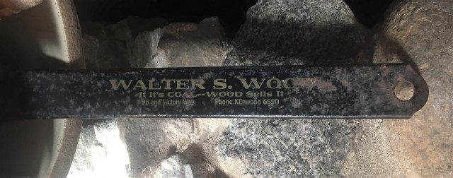 Walter Wood coal shovel