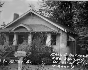 Conroy house 1938 photo