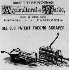 Fresno Scraper image courtesy of San Joaquin County Historical Society.