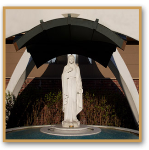 OLL Church Mary statue