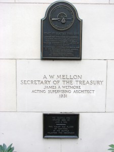 Old Federal Building historic plaques