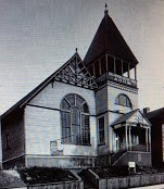 Unitarian Church on Seventh Avenue in 1908