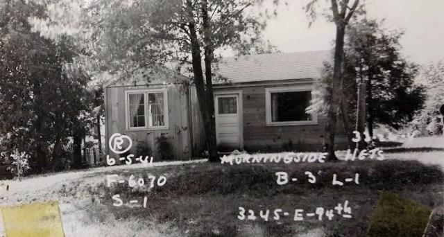 3245 NE 94th Street.Walt Haines house as of 1941