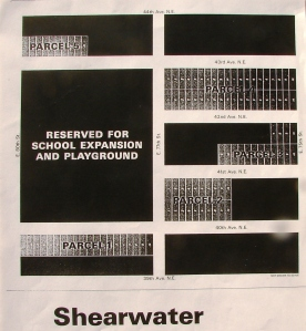 Shearwater auction map of 1965
