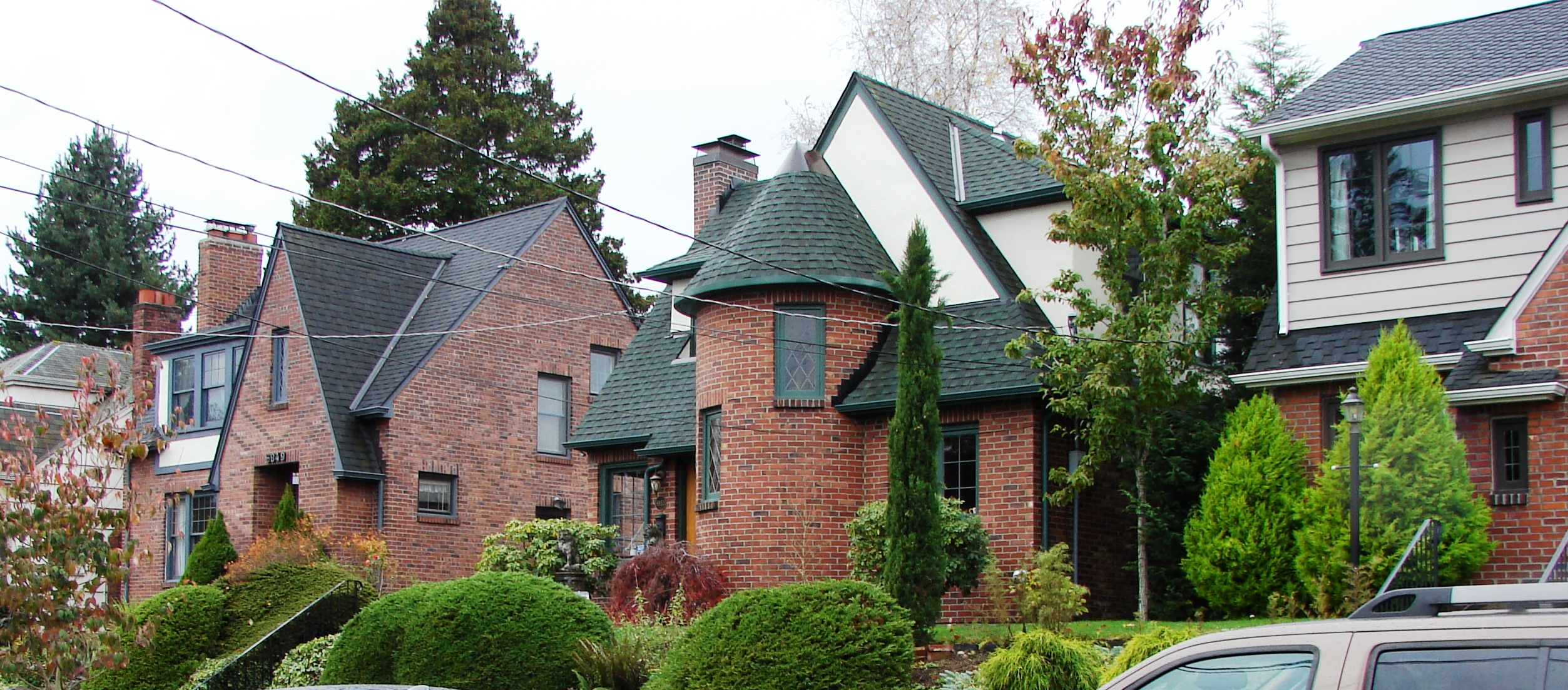 brick and stucco in wedgwood wedgwood in seattle history
