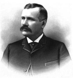 Daniel Hunt Gilman in 1890, one of the early Seattleites who worked to bring in rail transportation.