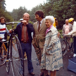 Burke-Gilman Trail approval celebration on March 15 1974.SMA 170708
