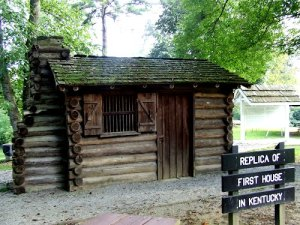 Dr Thomas Walker cabin Barbourville Kentucky