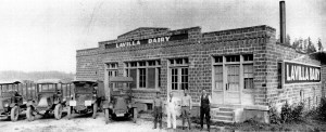 Ole Blindheim's LaVilla Dairy building is still in family ownership.
