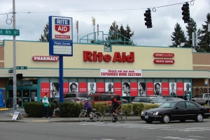 RiteAid is in the Pontiac plat, at the busy intersection 85th & 35th in the heart of Wedgwood's business district.