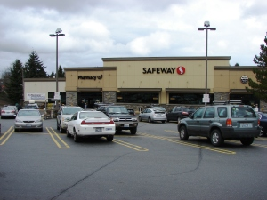The Wedgwood Safeway remodelling project, completed in August 2011, added space onto the front of the store.