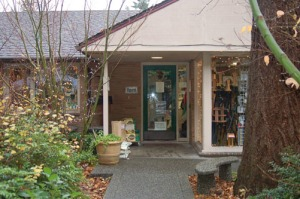 The Seattle Audubon Nature Shop building was the original office of Albert Balch, developer of Wedgwood..