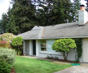 A cement block house in Parkwood met the price restrictions for home loans to veterans.