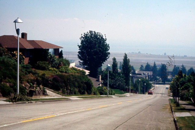 View Ridge on 70th at 56th.Municipal Archives Item 177131 of 1966