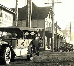 Ericksen's store in Bothell circa 1910.from a postcard