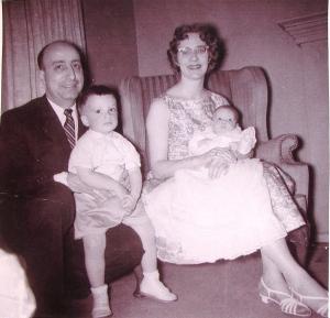 The Brancato family circa 1960.