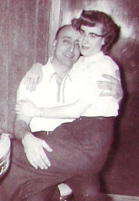 The Brancato newlyweds in 1955.