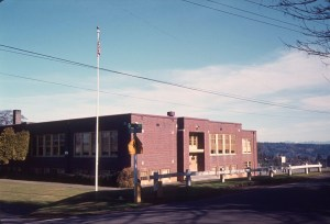 Maple Leaf School on northeast corner of NE 100th and 32nd Ave NE.1970s