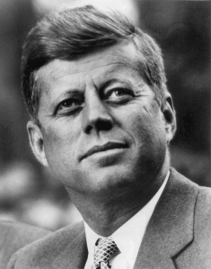President John F Kennedy in White House portrait