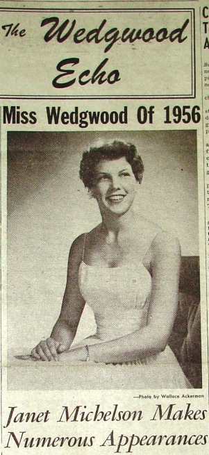 1956 Miss Wedgwood Janet Michelson