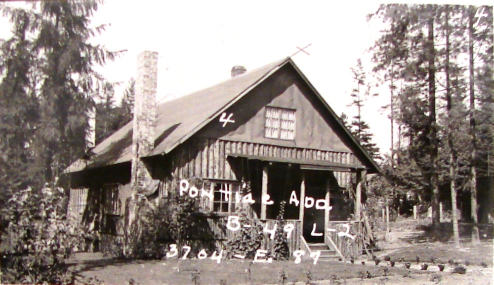 A Log House Life in Wedgwood in the 1930s (1/6)