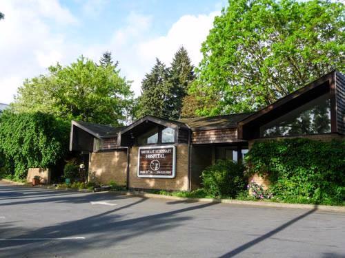 Northeast Veterinary Hospital building.9505 35th Ave NE
