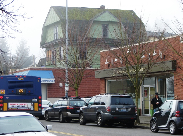 7321 35th Ave NE looms over busy arterial on January 31 2015