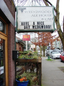 It's easy to have a nice day in the charming Wedgwood business district.