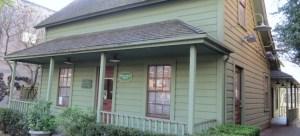 The Pioneer House now at 5341 Ballard Ave NW in the Ballard Avenue Landmark District.