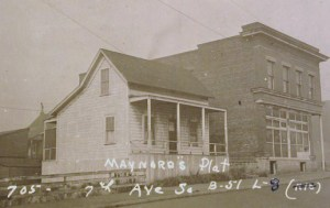 House in its original location at 7th & Dearborn Streets. Photo courtesy of Puget Sound Regional Archives tax assessment property cards.