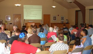 It was a packed house on June 24, 2015 to hear a DPD presentation on zoning changes at commercial intersections.