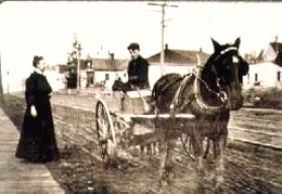 University Way was not paved until 1908.