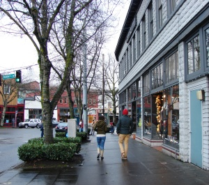 Fremont in Seattle has a vibrant commercial district with many small, locally owned shops.