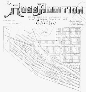 Ross Addition plat of 1888