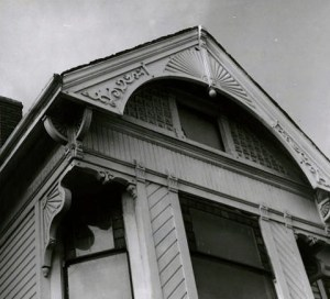Werner Lenggenhager did a photo study of this house at 329 Warren Street with its fine Victorian details.