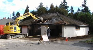 Demolition of 8038 35th Ave NE