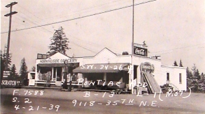 The Morningside Market as it looked in a 1939 tax assessors photo.