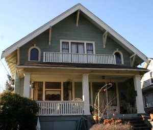 The house at 4407 2nd Ave NW was built in 1908 by Swedish immigrant Emil Nelson.
