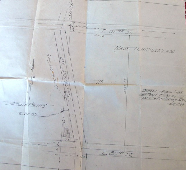 Survey of Tract 19 in 1943