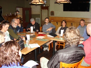 Wedgwood Community Council activists meet to plan programs and interact with City services