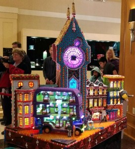Sheraton Hotel Gingerbread Village 2016