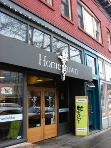 The Homegrown Sandwiches building at 3616 Fremont Ave was originally a bank.