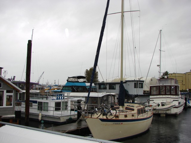 Boats at Canal Marina, 360 West Ewing Street on the south side of the ship canal.